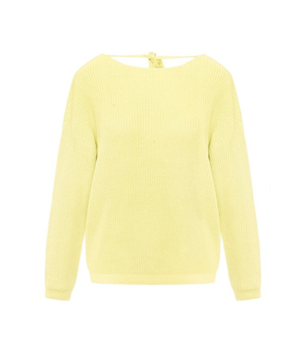 Sweter Enjoyable Light Yellow