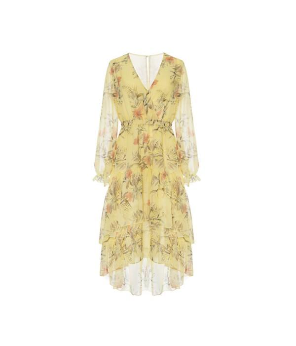 Sukienka Yellow Printlove
