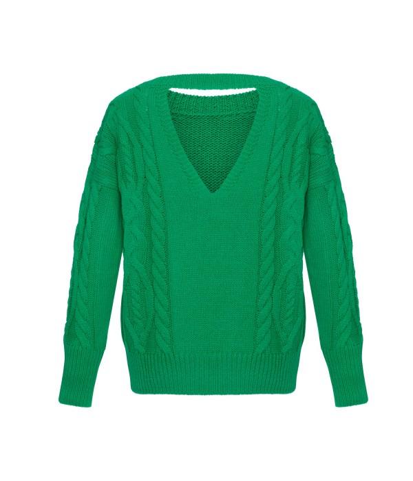 Sweter HOLEBACK GREEN | Oferta: biala bluzka, biala spodnica, biała bluzka, biała spódnica, bluza damska, bluza z kapturem, bluzka kobieca, ubrania od polskich producentow, ciemna bluzka, ciemne spodnie, ciemny kardigan, ciemny kombinezon, ciemny komplet, ciepły kardagin, ciepły sweter, czarna bluzka, czarna tunika, czarne spodnie, dluga sukienka, dlugi sweter, długa spódnica, długa sukienka, długi kardigan, długi sweter, dres damski, elegancka sukienka, elegancki kombinezon, fajne sukienki, jak dobrac ubrania, jak dobrać ubrania, jak modnie wygladac w ciazy, jak modnie wyglądać w ciąży, jak wygladac stylowo, jak wyglądać stylowo, jak zmienic styl ubierania, jak zmienić styl ubierania, jasna bluzka, jasna tunika, jasny kombinezon, jasny komplet, jasny sweter, jasny sweterek, jesienne stylizacje, kardigan, kardigan czarny, kardigan szary, kobiece spodnie dresowe, kobiecy dres, kombinezon, kombinezon damski, kombinezon khaki, kombinezon na wesele, kombinezon safari, komplet, komplet dresowy, komplet kobiecy, komplet spodnica i bluzka, kremowa bluza, kremowa bluza z kapturem, letnie stylizacje, luzna sukienka, luźna sukienka, maxi sukienka, mini spodniczka, mini spódnica, moda w ciazy, moda w ciąży, modne ciuchy, modne kiecki, modne kombinezony, modne ubrania, modny look, ponadczasowe sukienki, ponadczasowe ubrania, rozowy sweter, różowy sweter, sklep internetowy wysyłka za granicę, sklep internetowy z ubraniami, sklep internetowy z ciuchami, sklep internetowy z sukienkami, sklep internetowy z ubraniami jaki polecacie, sklep uwielbiany przez stylistow, sklep z odzieza, sklep z odzieżą, sklep z ubraniami online, sklep z ubraniami wysylka za granice, spódnica boho, spodnica dluga, spodnica i bluza, spodnica i bluzka, spodnica maxi, spodnica z falbana, spodnica z falbanami, spodniczka z falbanami, spodnie damskie, spodnie damskie 3/4, sportowa sukienka, spódnica boho, spódnica i bluza, spódnica i bluzka, spódnica maxi, spódnica z falbanami, spódnica z falbaną, styl dla ko