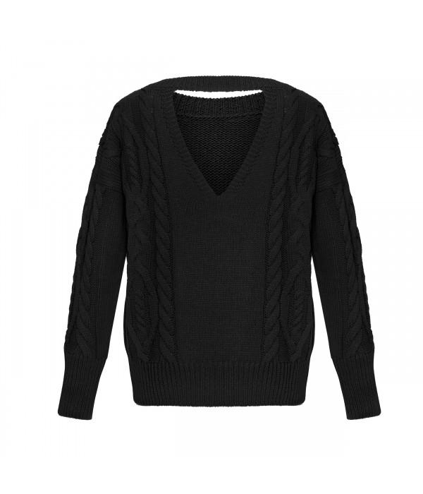 Sweter HOLEBACK BLACK | Oferta: biala bluzka, biala spodnica, biała bluzka, biała spódnica, bluza damska, bluza z kapturem, bluzka kobieca, ubrania od polskich producentow, ciemna bluzka, ciemne spodnie, ciemny kardigan, ciemny kombinezon, ciemny komplet, ciepły kardagin, ciepły sweter, czarna bluzka, czarna tunika, czarne spodnie, dluga sukienka, dlugi sweter, długa spódnica, długa sukienka, długi kardigan, długi sweter, dres damski, elegancka sukienka, elegancki kombinezon, fajne sukienki, jak dobrac ubrania, jak dobrać ubrania, jak modnie wygladac w ciazy, jak modnie wyglądać w ciąży, jak wygladac stylowo, jak wyglądać stylowo, jak zmienic styl ubierania, jak zmienić styl ubierania, jasna bluzka, jasna tunika, jasny kombinezon, jasny komplet, jasny sweter, jasny sweterek, jesienne stylizacje, kardigan, kardigan czarny, kardigan szary, kobiece spodnie dresowe, kobiecy dres, kombinezon, kombinezon damski, kombinezon khaki, kombinezon na wesele, kombinezon safari, komplet, komplet dresowy, komplet kobiecy, komplet spodnica i bluzka, kremowa bluza, kremowa bluza z kapturem, letnie stylizacje, luzna sukienka, luźna sukienka, maxi sukienka, mini spodniczka, mini spódnica, moda w ciazy, moda w ciąży, modne ciuchy, modne kiecki, modne kombinezony, modne ubrania, modny look, ponadczasowe sukienki, ponadczasowe ubrania, rozowy sweter, różowy sweter, sklep internetowy wysyłka za granicę, sklep internetowy z ubraniami, sklep internetowy z ciuchami, sklep internetowy z sukienkami, sklep internetowy z ubraniami jaki polecacie, sklep uwielbiany przez stylistow, sklep z odzieza, sklep z odzieżą, sklep z ubraniami online, sklep z ubraniami wysylka za granice, spódnica boho, spodnica dluga, spodnica i bluza, spodnica i bluzka, spodnica maxi, spodnica z falbana, spodnica z falbanami, spodniczka z falbanami, spodnie damskie, spodnie damskie 3/4, sportowa sukienka, spódnica boho, spódnica i bluza, spódnica i bluzka, spódnica maxi, spódnica z falbanami, spódnica z falbaną, styl dla ko