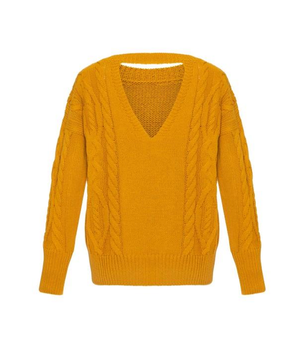 Sweter HOLEBACK MUSTARD | Oferta: biala bluzka, biala spodnica, biała bluzka, biała spódnica, bluza damska, bluza z kapturem, bluzka kobieca, ubrania od polskich producentow, ciemna bluzka, ciemne spodnie, ciemny kardigan, ciemny kombinezon, ciemny komplet, ciepły kardagin, ciepły sweter, czarna bluzka, czarna tunika, czarne spodnie, dluga sukienka, dlugi sweter, długa spódnica, długa sukienka, długi kardigan, długi sweter, dres damski, elegancka sukienka, elegancki kombinezon, fajne sukienki, jak dobrac ubrania, jak dobrać ubrania, jak modnie wygladac w ciazy, jak modnie wyglądać w ciąży, jak wygladac stylowo, jak wyglądać stylowo, jak zmienic styl ubierania, jak zmienić styl ubierania, jasna bluzka, jasna tunika, jasny kombinezon, jasny komplet, jasny sweter, jasny sweterek, jesienne stylizacje, kardigan, kardigan czarny, kardigan szary, kobiece spodnie dresowe, kobiecy dres, kombinezon, kombinezon damski, kombinezon khaki, kombinezon na wesele, kombinezon safari, komplet, komplet dresowy, komplet kobiecy, komplet spodnica i bluzka, kremowa bluza, kremowa bluza z kapturem, letnie stylizacje, luzna sukienka, luźna sukienka, maxi sukienka, mini spodniczka, mini spódnica, moda w ciazy, moda w ciąży, modne ciuchy, modne kiecki, modne kombinezony, modne ubrania, modny look, ponadczasowe sukienki, ponadczasowe ubrania, rozowy sweter, różowy sweter, sklep internetowy wysyłka za granicę, sklep internetowy z ubraniami, sklep internetowy z ciuchami, sklep internetowy z sukienkami, sklep internetowy z ubraniami jaki polecacie, sklep uwielbiany przez stylistow, sklep z odzieza, sklep z odzieżą, sklep z ubraniami online, sklep z ubraniami wysylka za granice, spódnica boho, spodnica dluga, spodnica i bluza, spodnica i bluzka, spodnica maxi, spodnica z falbana, spodnica z falbanami, spodniczka z falbanami, spodnie damskie, spodnie damskie 3/4, sportowa sukienka, spódnica boho, spódnica i bluza, spódnica i bluzka, spódnica maxi, spódnica z falbanami, spódnica z falbaną, styl dla 