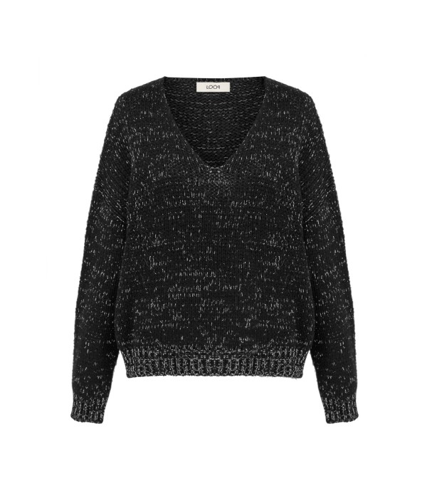Sweter Filetto Black