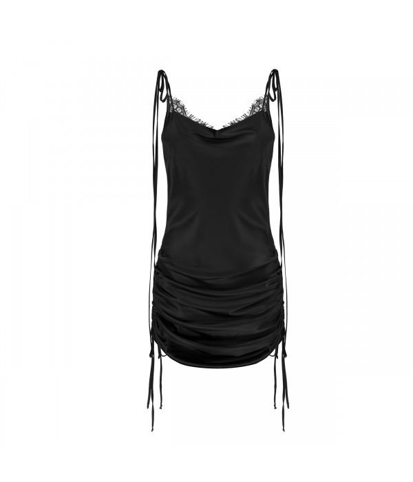 Sukienka Black Ruffle