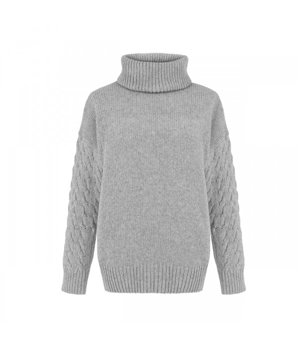 Sweter Grey Lady
