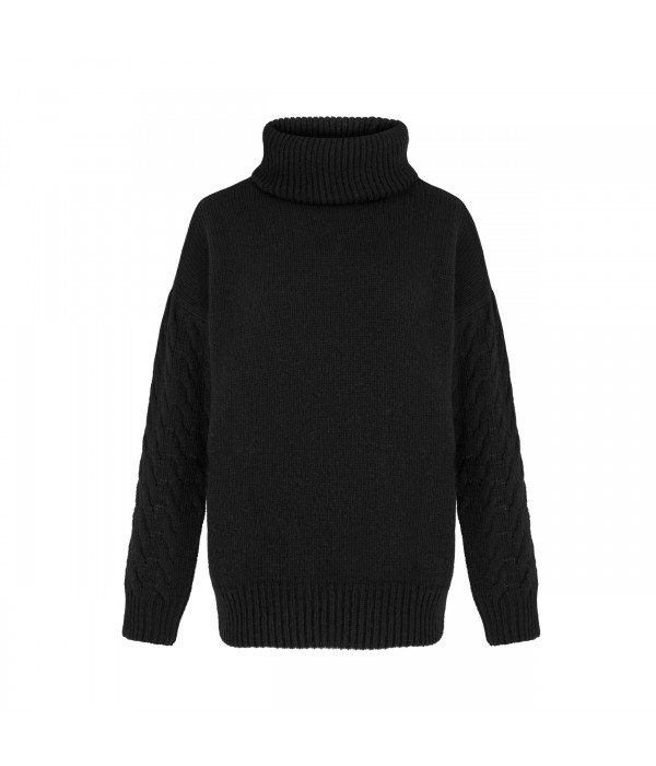 Sweter Black Lady